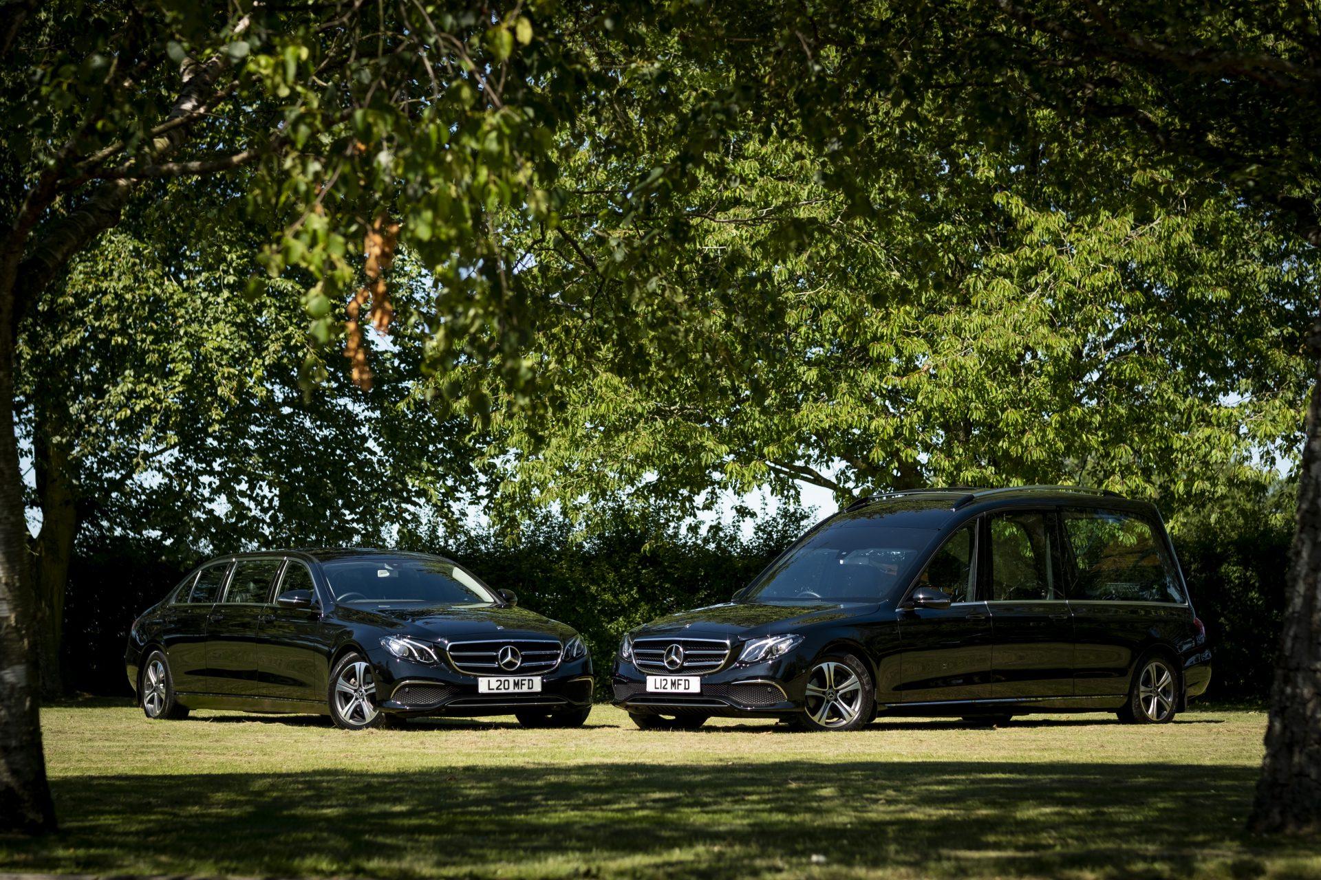 SJ&J Maddocks Funeral Directors hearse cars