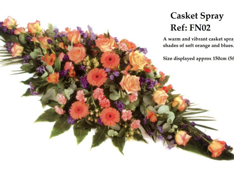 Casket Spray Ref: FN02