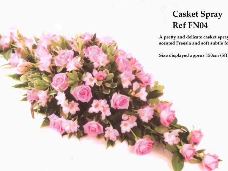 Casket Spray Ref: FN04