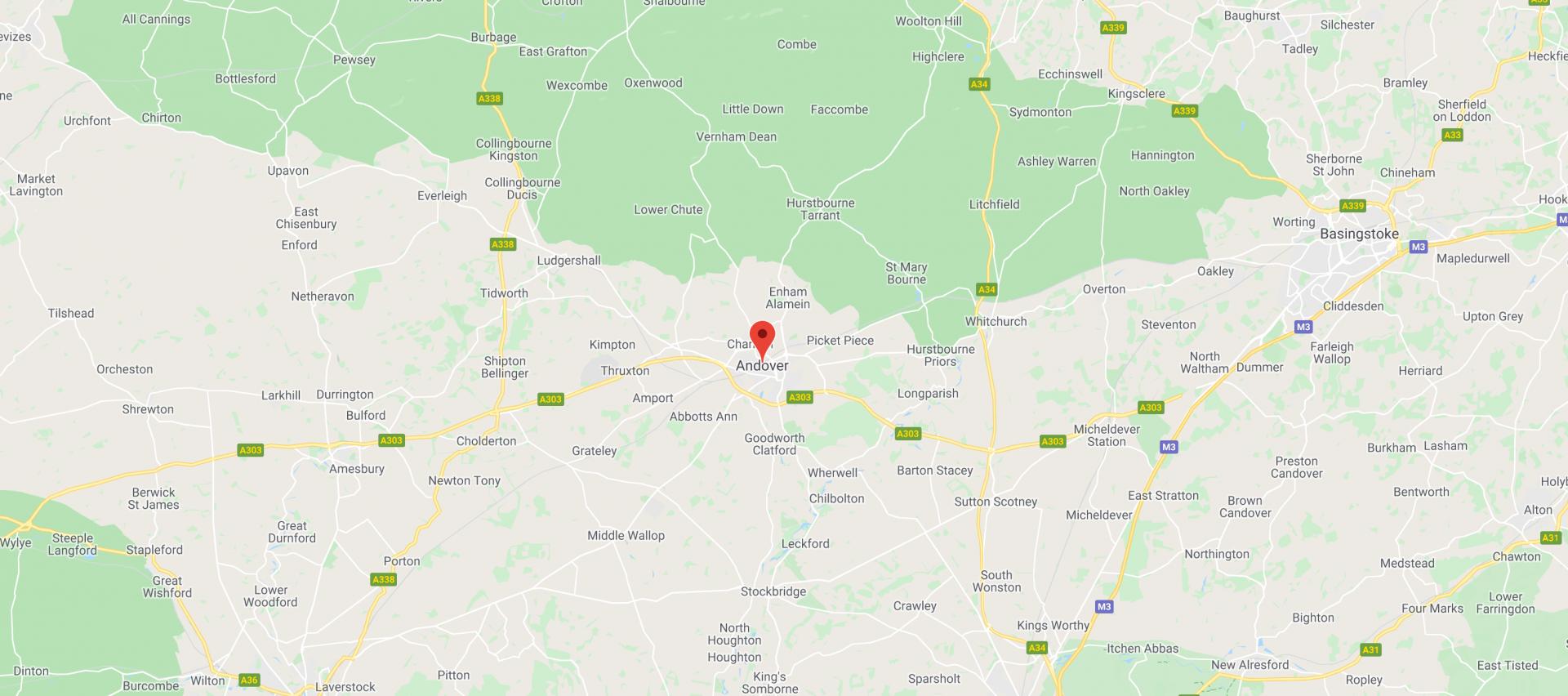 S & J Maddocks map location